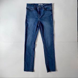 "29"" Short Levi's Slimming Skinny Jeans"